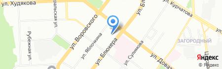 Бурлеск на карте Челябинска