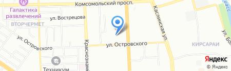 Федерация Ушу на карте Челябинска