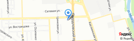 ТеплоСвет на карте Челябинска