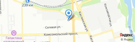 Омникомм Южный Урал на карте Челябинска