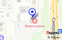Схема проезда до компании ПЕРЕМЕНА ФАБРИКА КОМФОРТА в Челябинске