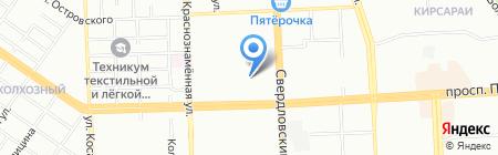 Мировые судьи Курчатовского района на карте Челябинска