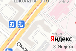 Схема проезда до компании Счастливое время в Челябинске