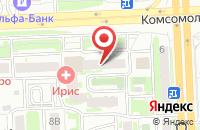 Схема проезда до компании Импульс в Челябинске