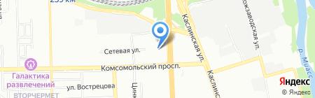 Лика-Сервис на карте Челябинска