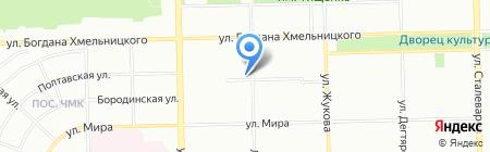 Детский сад №165 на карте Челябинска