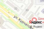 Схема проезда до компании Белорусский трикотаж в Челябинске