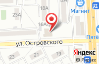 Схема проезда до компании Альфа-Торг в Челябинске