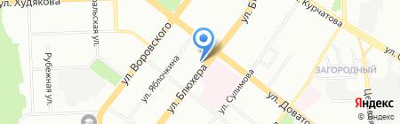 Уралгазкомплект на карте Челябинска
