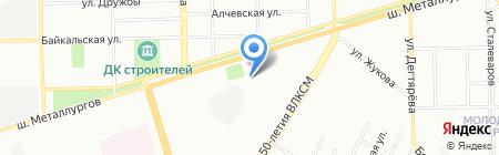 Инструментальная компания на карте Челябинска
