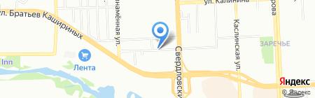 ГАЛСО на карте Челябинска