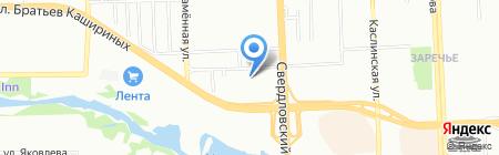 МК-ЭЛЕКТРО на карте Челябинска