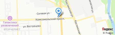 MegaFlowers на карте Челябинска