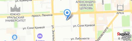 Усадьба на карте Челябинска
