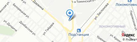 Планета мебели на карте Челябинска