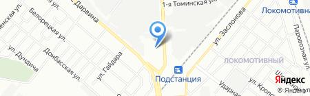 Шкафейня на карте Челябинска
