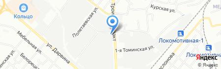 Южуралавтотранс на карте Челябинска
