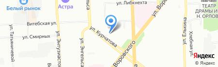 Белорусский трикотаж на карте Челябинска