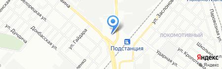 Газоны Урала на карте Челябинска