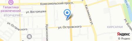 Базис на карте Челябинска