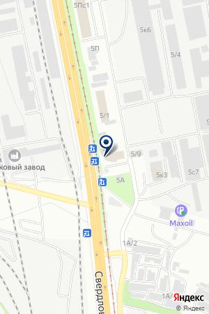 ТОРГОВАЯ КОМПАНИЯ ЕВРОПРОЕКТ-ЧЕЛЯБИНСК на карте Челябинска