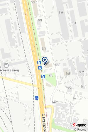 ФИРМА АКВАРЕЛЬ (ОФИС) на карте Челябинска