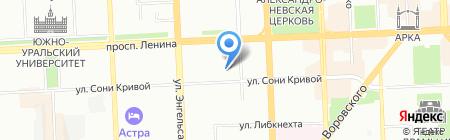 Альтернатива на карте Челябинска