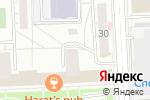 Схема проезда до компании СУШИ 74 в Челябинске