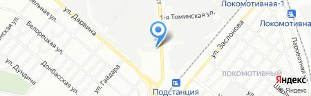 Русский Ландшафт на карте Челябинска