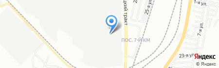 Челябрезинатехника на карте Челябинска
