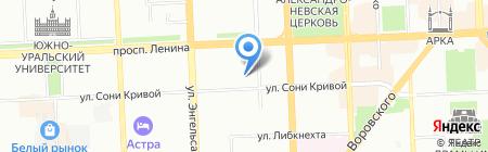 Oko-tour на карте Челябинска