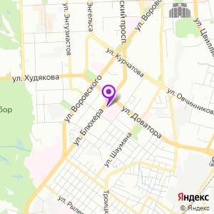 Дорожная клиническая больница РЖД на карте