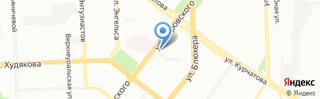ТрестСервисСтрой на карте Челябинска