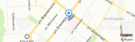 Военно-мемориальная компания на карте Челябинска