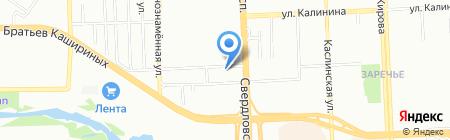 АвтоСлон на карте Челябинска