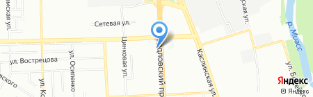 NIPPON-SUSHI на карте Челябинска