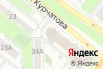 Схема проезда до компании Соединение в Челябинске