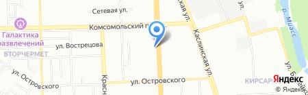 А-СЕРВИС на карте Челябинска