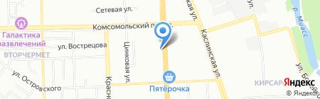 ЭСКО на карте Челябинска