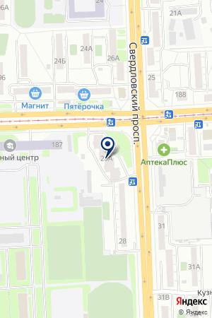 ПОЛИКЛИНИКА СТОМАТОЛОГИЧЕСКАЯ N 162 на карте Челябинска