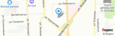 Детский сад №213 на карте Челябинска