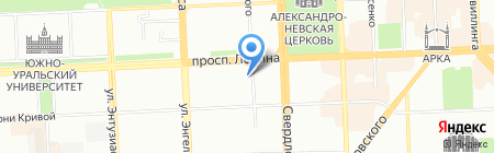 Термодом на карте Челябинска