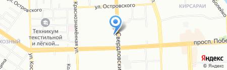 Уральская мемориальная компания на карте Челябинска