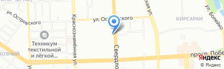 ДЕНИКОС на карте Челябинска