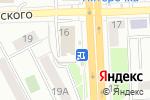 Схема проезда до компании Авеню в Челябинске
