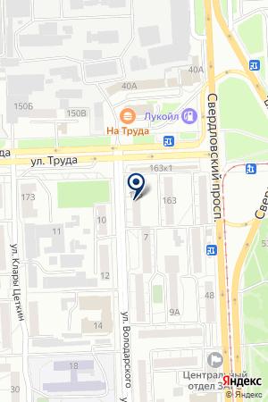 ЦЕНТР СЛУХА САМЕХ на карте Челябинска