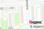 Схема проезда до компании 40 метров в Челябинске