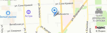 Архитектура материалов на карте Челябинска