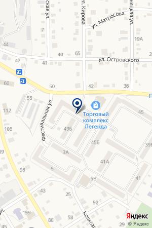 АВТОСТОЯНКА на карте Коркино