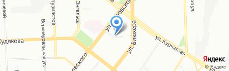 Тенториум на карте Челябинска